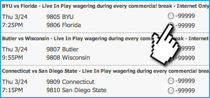 Where to find House Live Wagering Lines