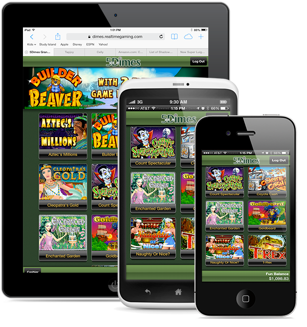 Casino Games on an iPhone or iPad or iPod Touch