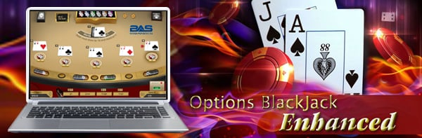 Betanysports Options Blackjack Mini Game